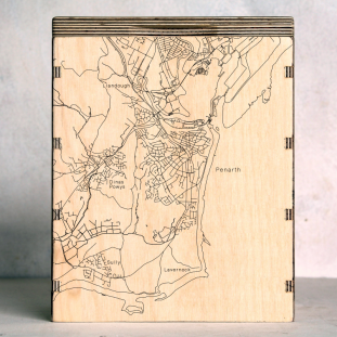 Penarth Map Box