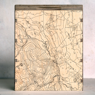 Penyffordd Hope Mountain Map Box