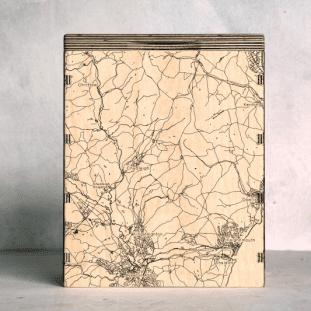 Teign ValleyNewton Abbott Map Box