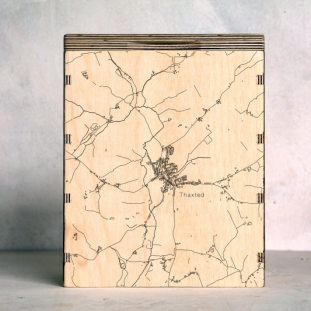 Thaxted-Essex Map Box