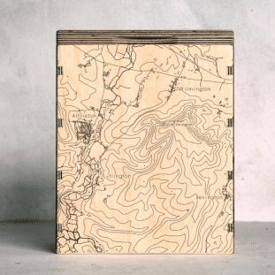 Wilmington Alfiston Map Box