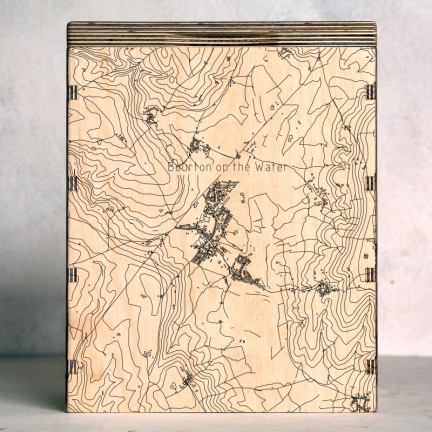 bourton-on-the-water map box