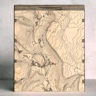 curbar-edge map box