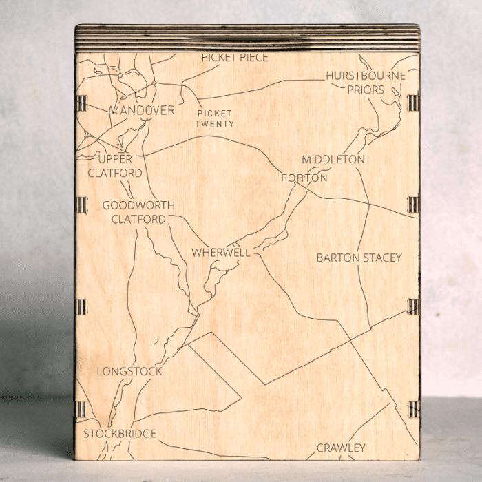 forton-hampshire map box