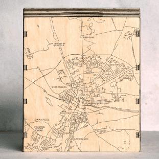 lincoln map box