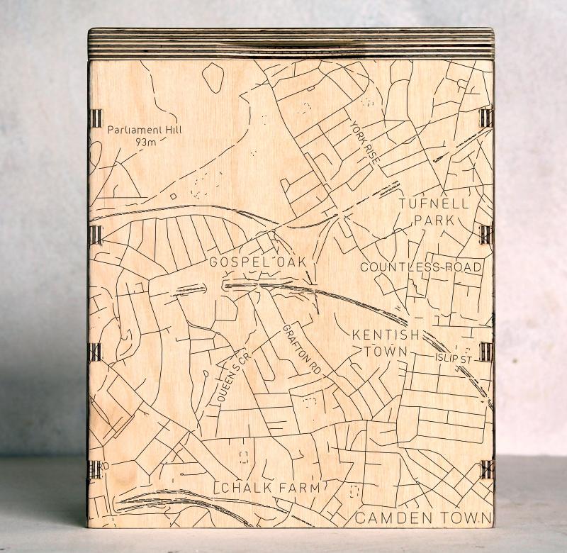 London Camden Town Kentish Town London Map Box
