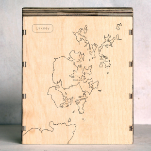orkney map box