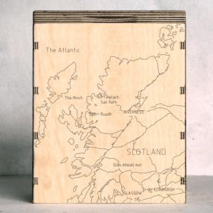 scotland-outline map box