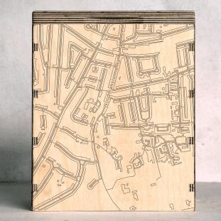 surrey Woodmansterne map box