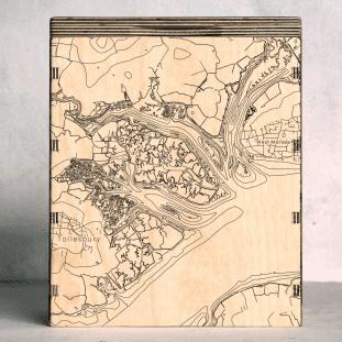 tollesbury map box