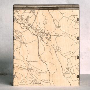 topsham map box