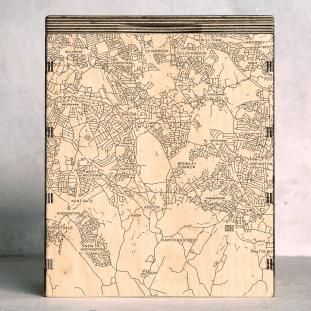 west wickham map box
