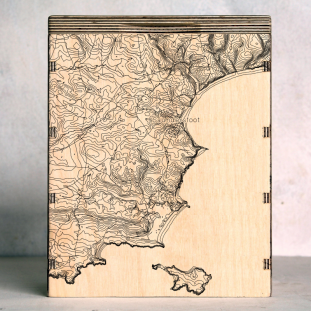 tenby map box