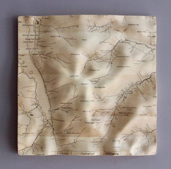 Helvellyn Wall Map