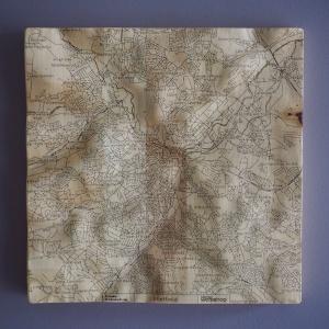 Sheffield Wall Map