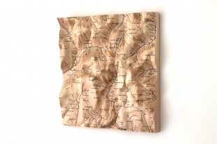 Scafell Pike Wall Map
