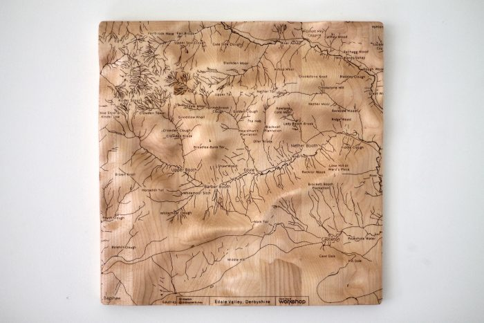 Edale Valley Wall Map
