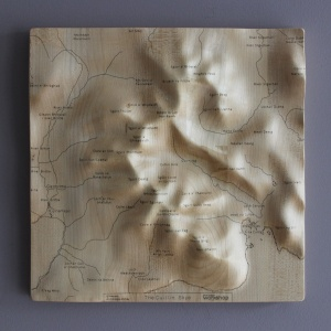 Cuillin Wall Map