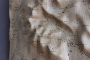 Cuillin Wall Map