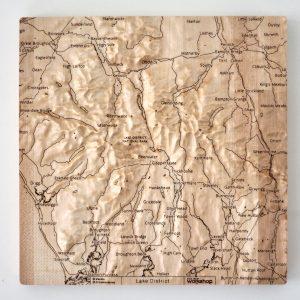 Lake District Wall Map