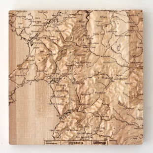 Snowdonia Wall Map