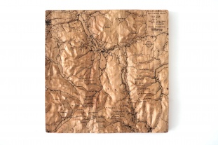 Bob Graham Round Wall Map
