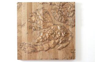 Isle of Mull Wall Map