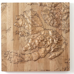 Isle of Mull Wall Map