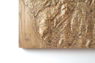 Lake District Wall Map 60cm